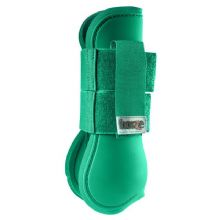HORZE OPEN FRONT TENDON BOOTS - EMERALD GREEN - RRP £21.99